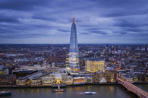 London's Shard tower is an example of a mixed use scheme