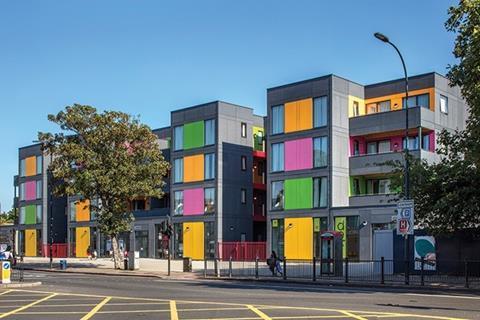 Rogers housing in Lewisham