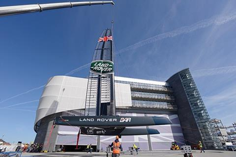 Land Rover BAR Americas Cup HQ