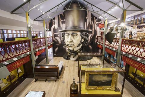 Brunel museum interior Beard
