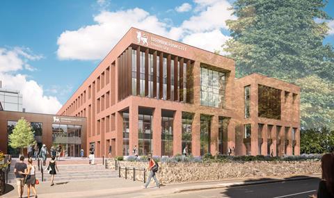 sport and life sciences building City South Campus Birmingham City University