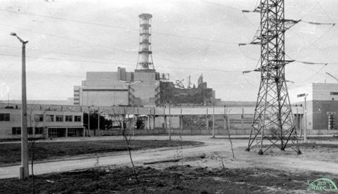 Chernobyl Nuclear Power Plant after accident
