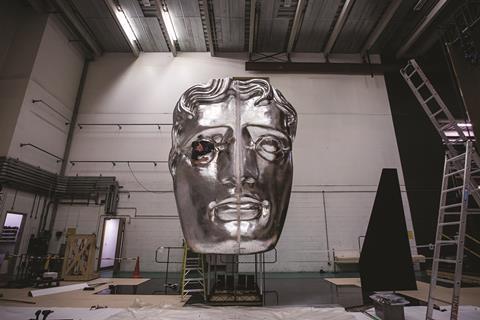 BAFTA backstage