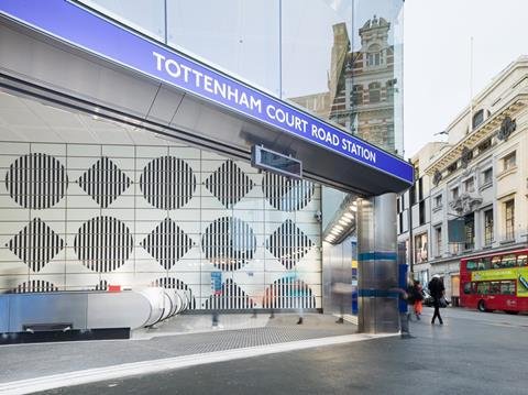 Tottenham Court Road Station 3