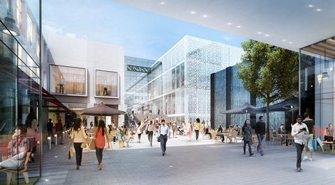 Westfield Croydon by Westfield and Hammerson index