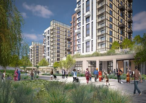 Assael Architecture - Walthamstow build to rent scheme