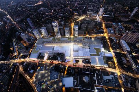 Hammerson and westfield croydon plans