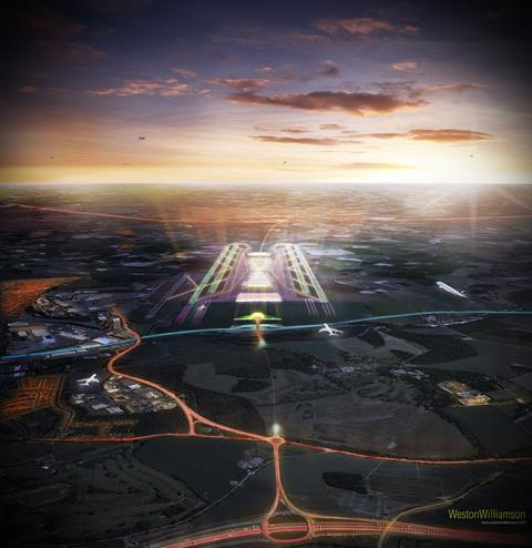 Weston Williamson's Luton airport expansion design