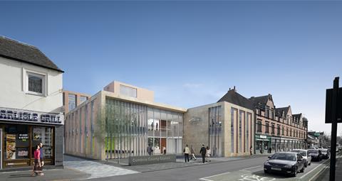 Cumbria council HQ AHR
