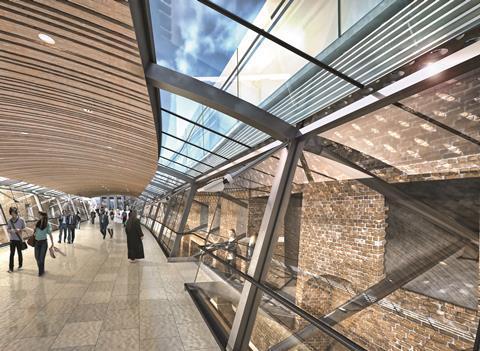 Whitechapel Crossrail, London / south-east England