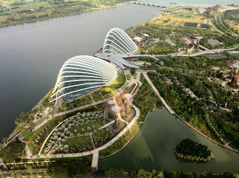 Wilkinson Eyre's Gardens on the Bay, Singapore