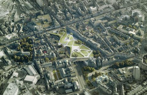 Aberdeen city garden design by architects Diller Scofidio and Renfro, Keppie Design and OLIN
