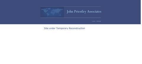 John Priestley Home_site down