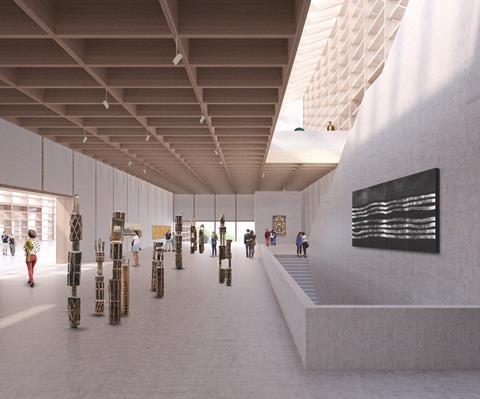 David Chipperfield Architects and SJB Architects concept design for the Adelaide Contemporary gallery
