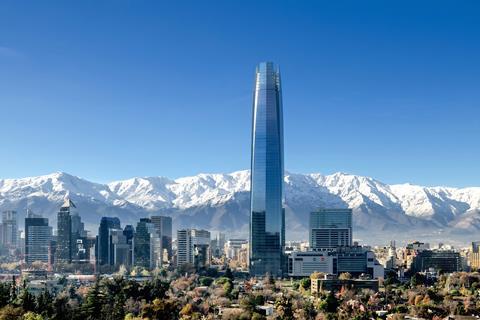 Torre Costanera in Santiago, Chile