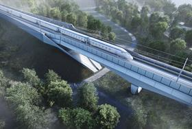 HS2 starts work on UK's longest rail viaduct