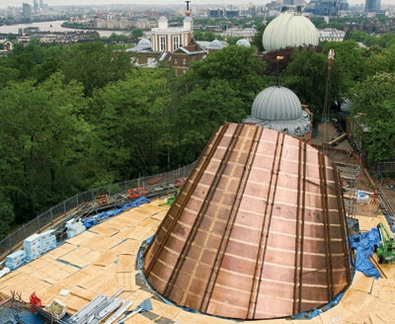 The flexibility of construction management was an advantage in the highly complex Time and Space planetarium project in Greenwich Park