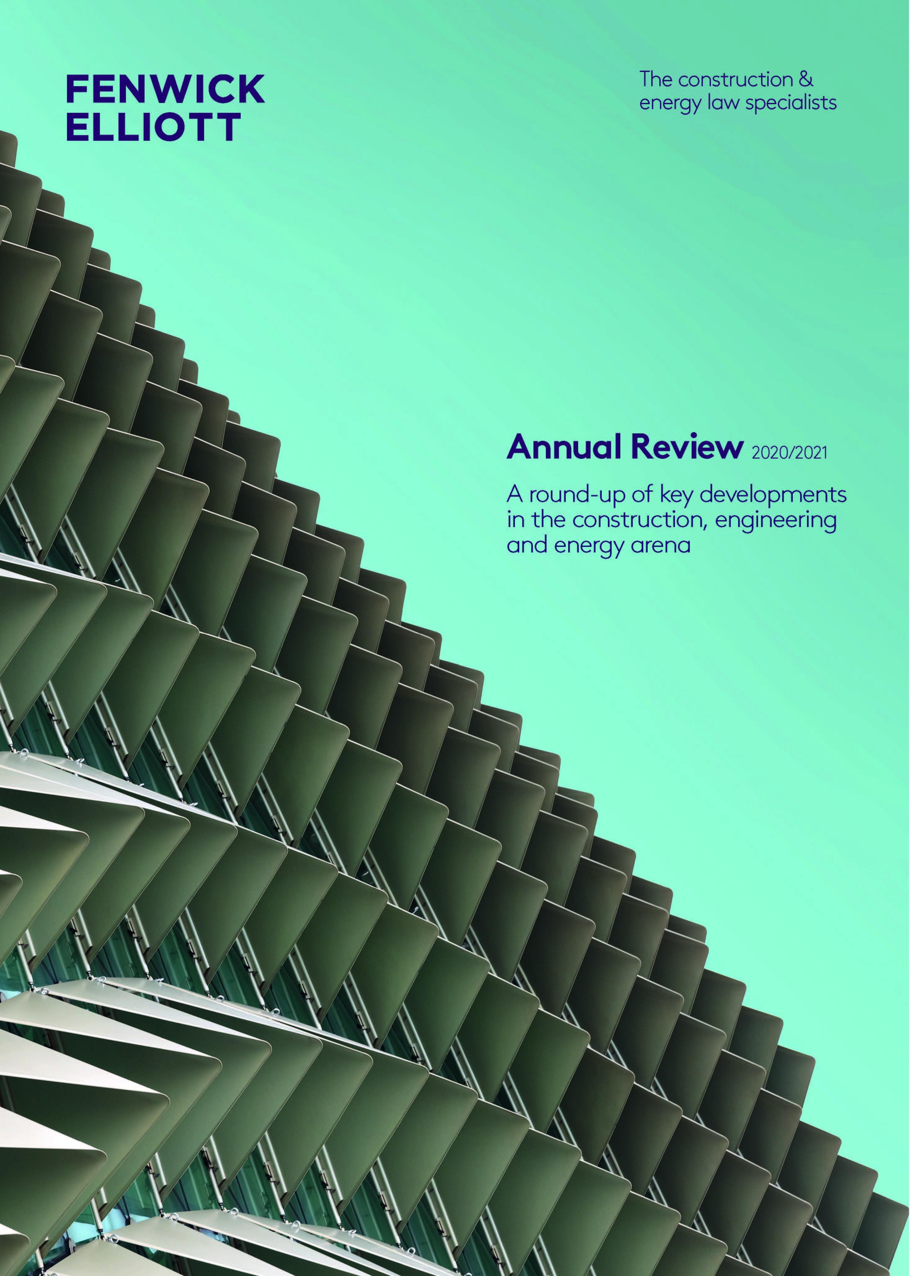 Fenwick Elliott Annual Review 2020/2021